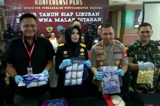 Bea Cukai gagalkan penyelundupan narkoba jaringan internasional