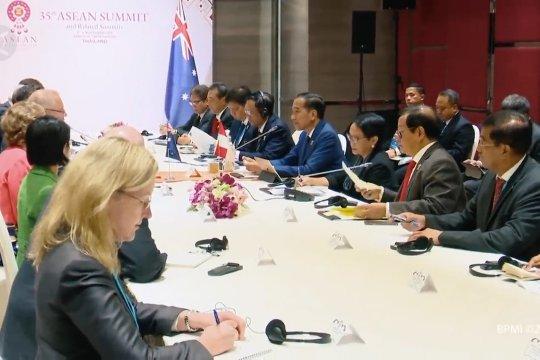 Bertemu PM Australia, Jokowi cerita perihal Papua