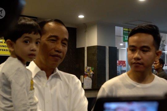 Cucu ketiga Presiden Jokowi punya nama bermakna rendah hati
