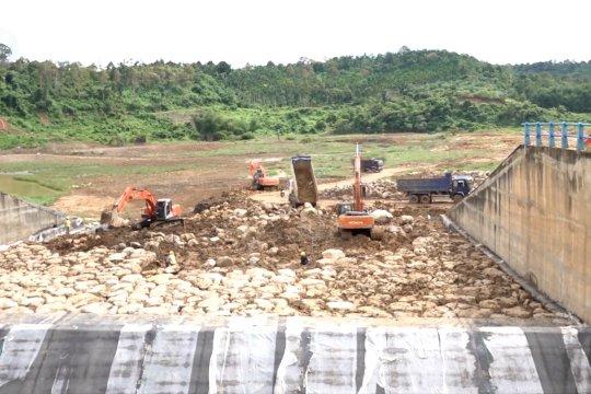 Empat embung seluas 62,5 hektar siap aliri sawah