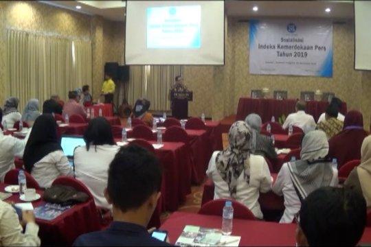 Indeks kemerdekaan pers di Sultra tertinggi se-Indonesia