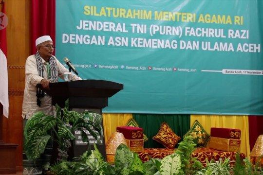 Ini pesan ulama Aceh untuk Menteri Agama