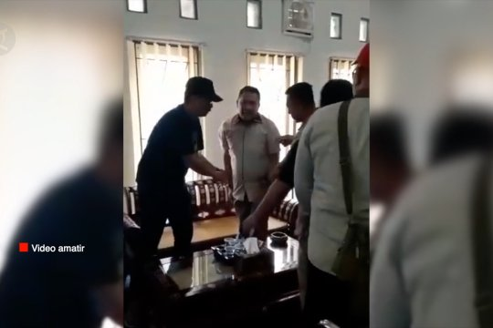 Jaksa OTT Kadispar Lombok Barat