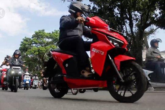 Pemprov Sumbar upayakan motor listrik jadi kendaraan operasional dalam kota