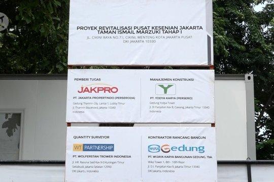 Mengurai kontroversi revitalisasi Taman Ismail Marzuki