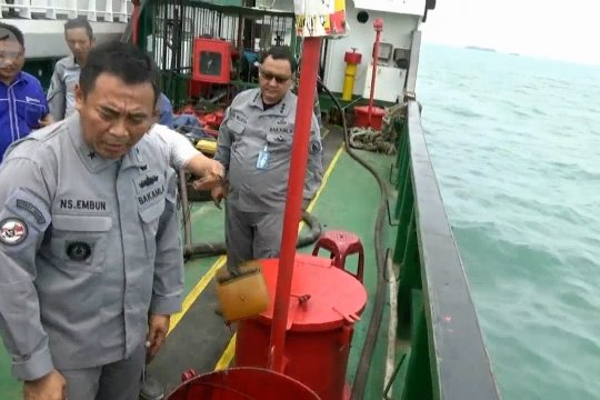 Bakamla amankan kapal muatan BBM ilegal di perairan Bojonegara