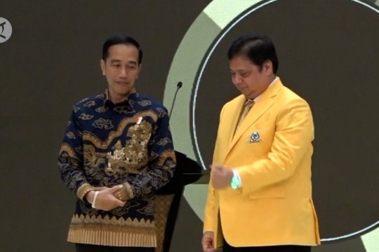 Presiden Jokowi ingatkan Golkar jaga kesolidan