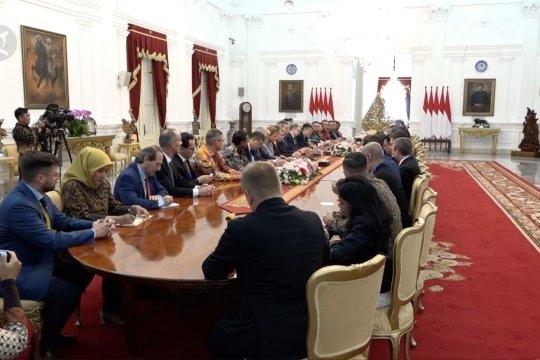 Terima EU-ASEAN Business Council, Jokowi: jangan diskriminasi sawit!