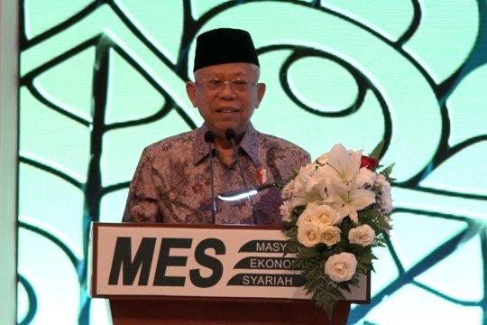 Wapres Ma'ruf ingin Indonesia kuasai pasar keuangan Islam