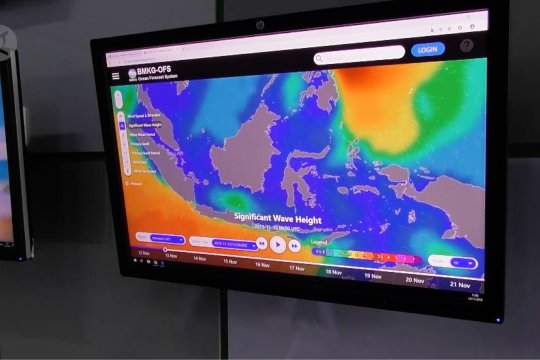 BMKG: Waspadai water spot di perairan Laut Jawa