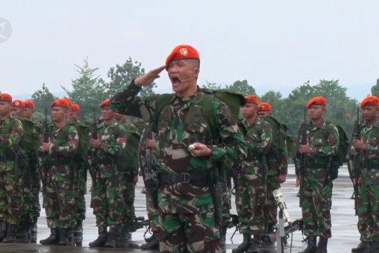 229 Pasukan elite TNI AU amankan penerbangan di Papua