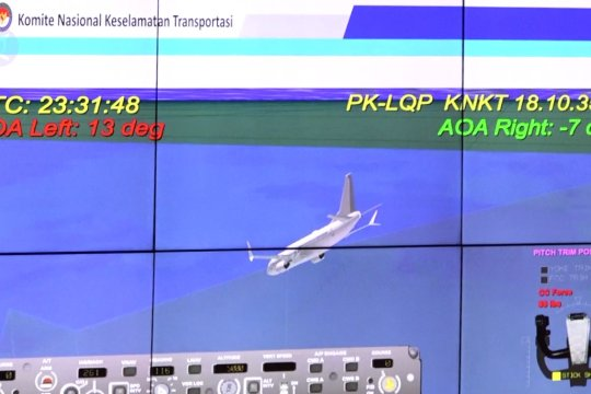 DPR dan Menhub bahas laporan akhir kecelakaan Lion Air