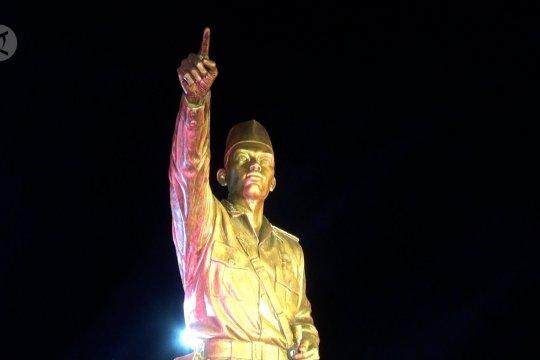 Menhan resmikan patung Panglima Besar Jendral Sudirman