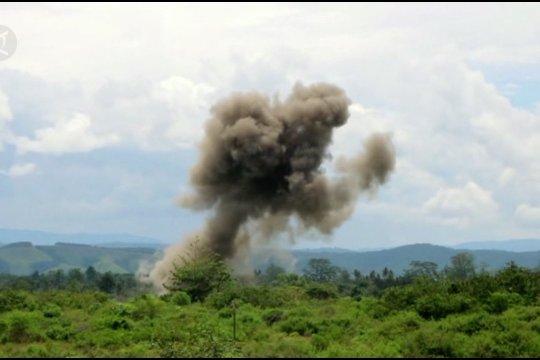 TNI AU musnahkan amunisi dan bom aktif sisa PD II