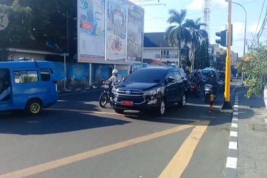 Aktivitas di Kota Ternate berangsur normal