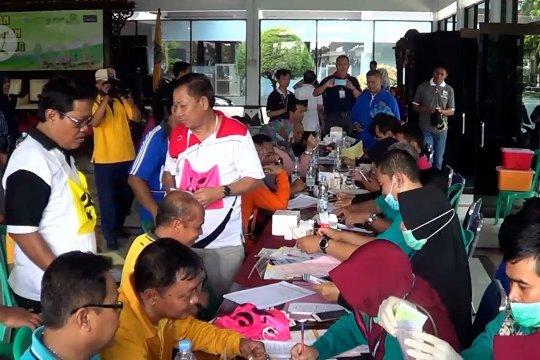 Bupati dan ASN Batang jalani tes bebas narkoba