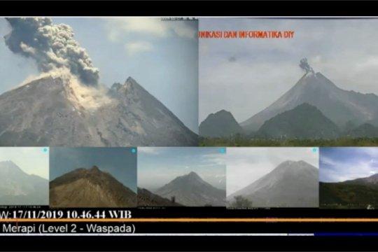 Gunung Merapi luncurkan awan panas setinggi 1.000 meter