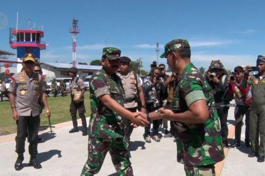 Panglima TNI & Kapolri beri arahan prajurit  jaga stabilitas keamanan di Papua