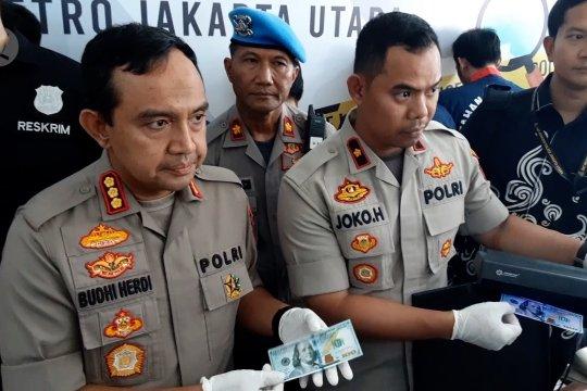 Polres Jakarta Utara gagalkan penyebaran Dolar AS palsu