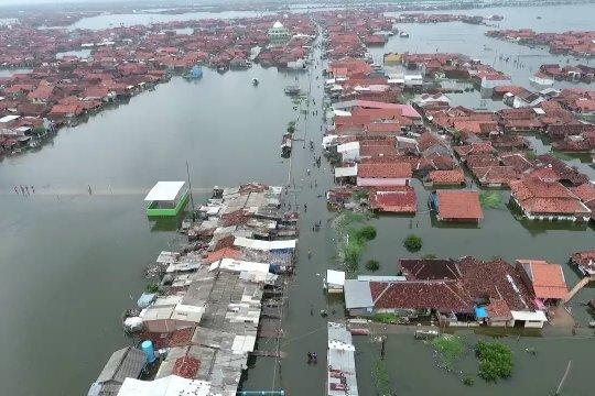 BPBD Pekalongan Siaga Bencana Banjir Rob