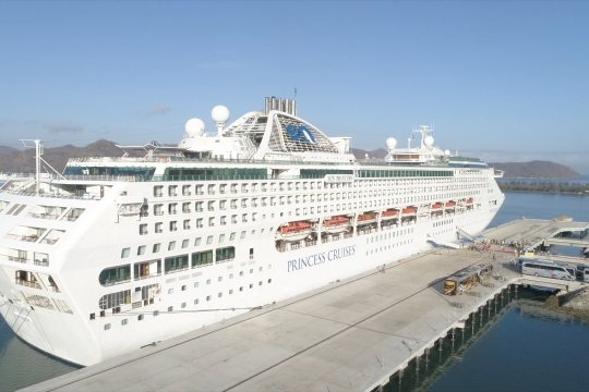 Pelabuhan Gili Mas Lombok resmi beroperasi