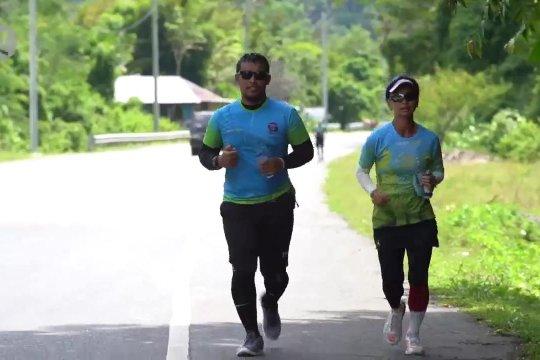 Lari 250 km untuk amal 15 tahun tsunami