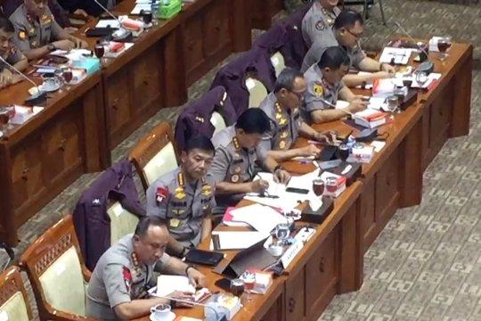 Raker dengan DPR, Kapolri sebut telah tangkap 74 terduga teroris