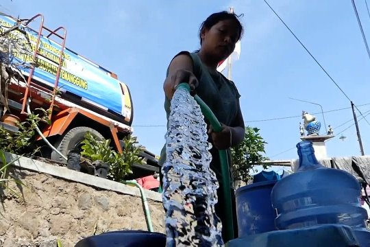 Sembilan kecamatan di Temanggung masih kekurangan air bersih