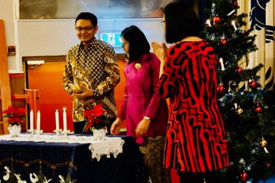 WNI di Swedia gelar perayaan Natal dan pesta rakyat