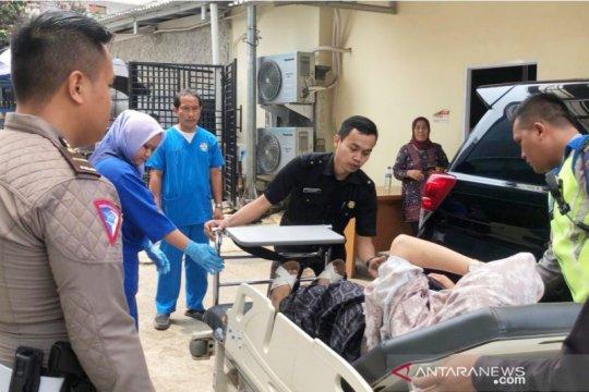 Polantas evakuasi wanita hamil di jalur Puncak dapat penghargaan
