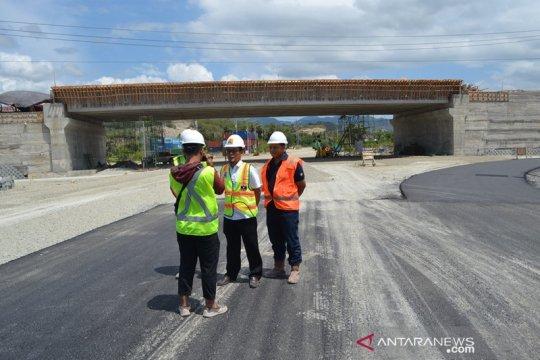 Proyek jalan layang Pantoloan benrilai Rp85 miliar segera beroperasi