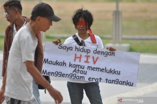 Peringatan Hari AIDS Sedunia di Palu