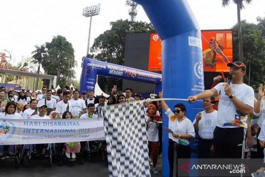 Peringati Hari Disabilitas, Kemensos ajak 1.000 penyandang jalan sehat