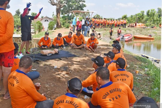 Pelatihan siaga bencana relawan Madiun