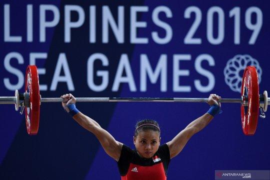 Sea Games 2019 : Lifter Lisa Setiawati raih perak