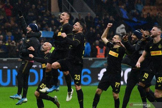 Hasil dan klasemen Liga Italia, Inter kudeta Juve di pucuk klasemen