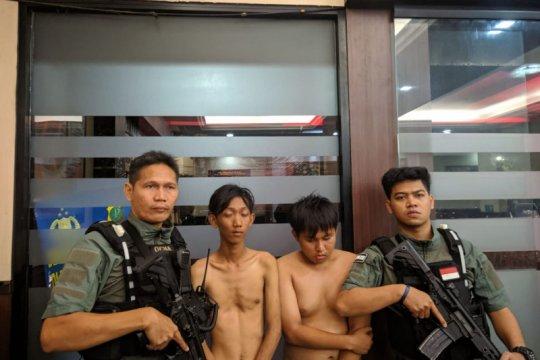 Polres Jaksel tangkap dua pelaku tawuran di Manggarai