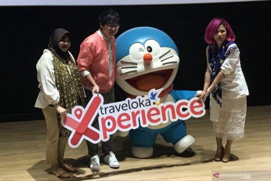 Doraemon ikon promosi liburan akhir tahun Traveloka