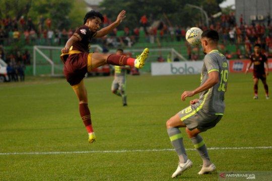 Sebagian pemain Borneo FC mulai gelar latihan bersama