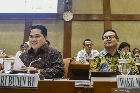 Erick Thohir paparkan serapan PMN PLN dan Hutama Karya yang besar