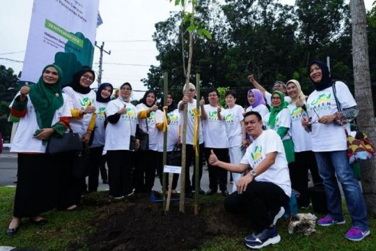 Universitas Sumatera Utara jadi Kampus Hijau