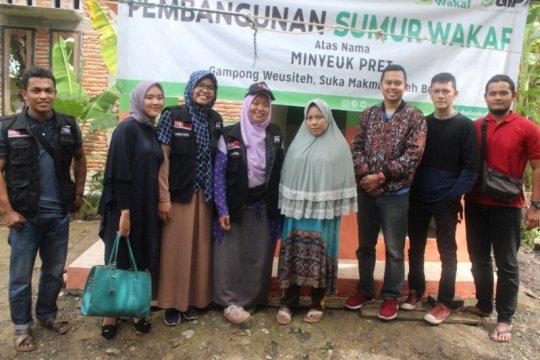 ACT Aceh realisasikan sumur wakaf bagi Nurfaizah, guru ngaji difabel