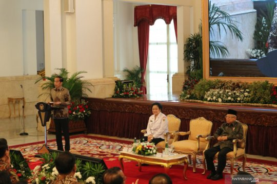 Kata Jokowi di setiap kartu ada ideologi Pancasila