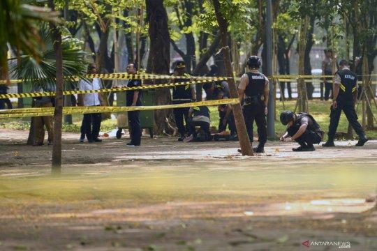 Polisi tunggu keterangan penyidik terkait ledakan granat di Monas