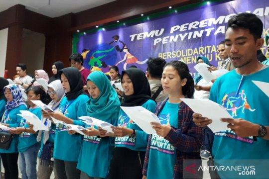 Penyintas perempuan Pasigala tuntut pemenuhan hak oleh pemerintah