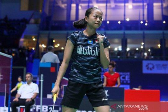 Fitriani kalah lagi, Indonesia tertinggal 1-2