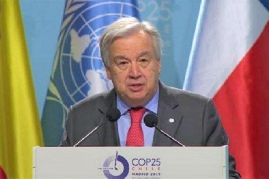 Buka COP 25, Sekjen PBB desak dunia serius tangani darurat iklim