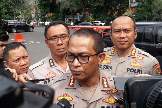 Penyidik TNI-Polri belum bisa periksa korban ledakan granat asap