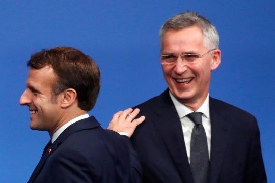 Presiden Prancis Macron bahas situasi Timur Tengah dengan Irak dan UEA
