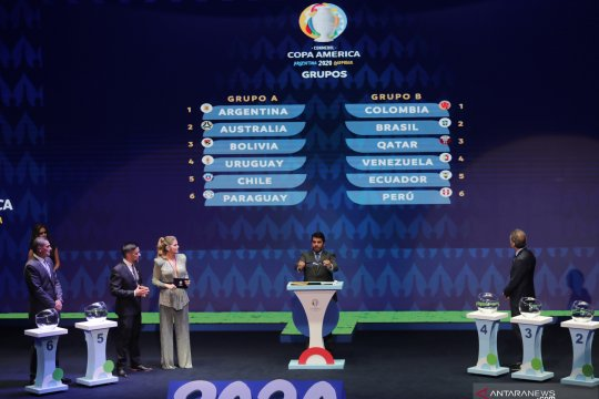 Mahkamah Agung tolak gugatan pembatalan Copa America di Brazil